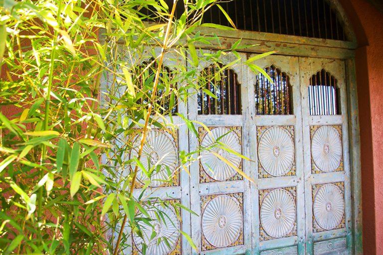 Bombay Moon Door