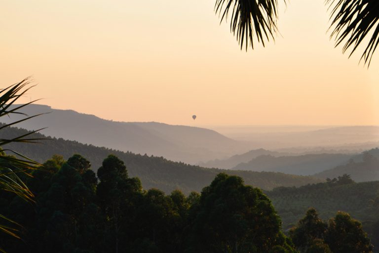 Sunrise in the Sabie Valley